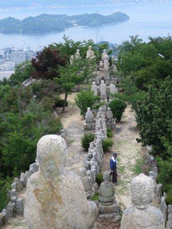 Mt. Shirataki: 石仏群