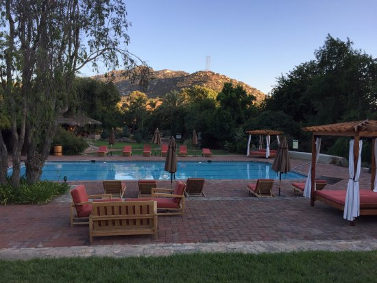 Rancho La Puerta Spa: Quiet Pool - there are several others