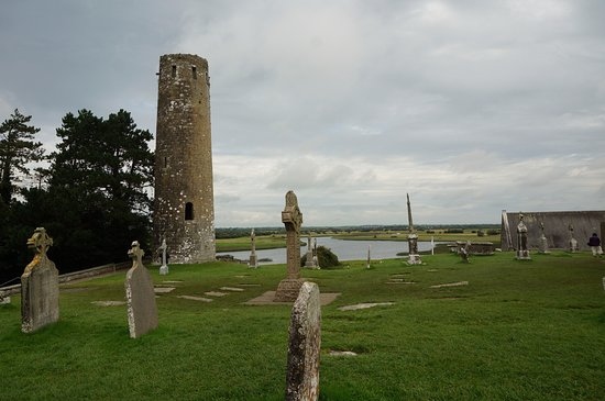 County Offaly, Ireland: the round tower