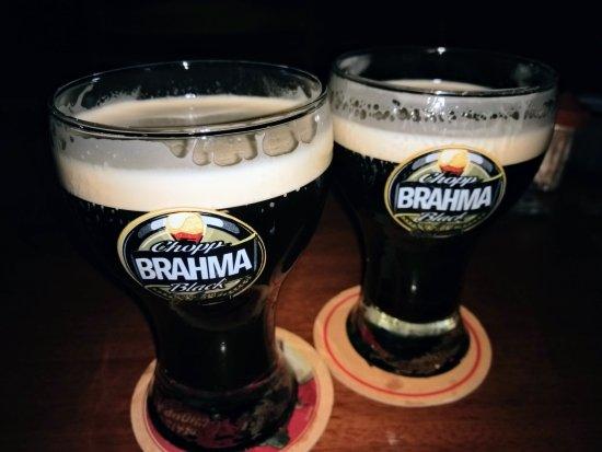 Araçatuba, SP: Chopp Brahma Black fantástico!!