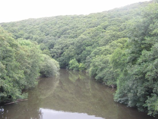 Devon, UK: River Torridge near |Torrington seen from the Trail