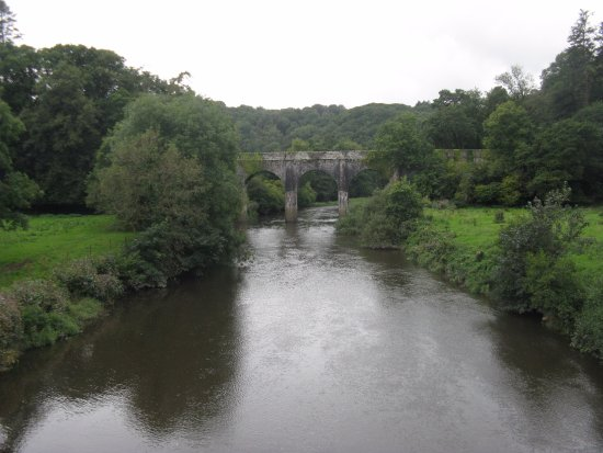 Devon, UK: Beam Aqueduct was once part of the Rolle Canal