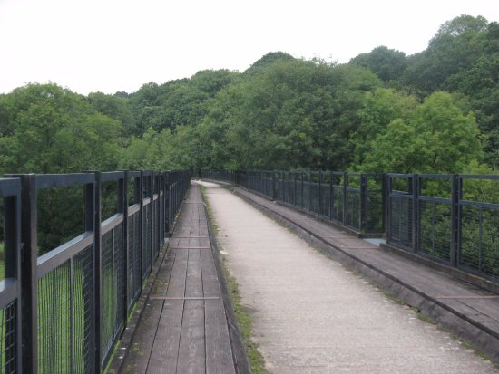 Devon, UK: Viaduct over the Torridge near Torrington