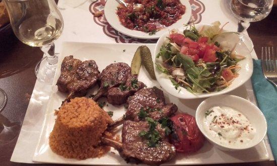 Anatolia mediterranean restaurant 14 rue louis blanc for Anatolia mediterranean turkish cuisine
