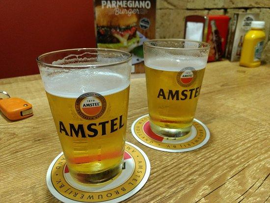 Araçatuba, SP: Chopp Amstel fantástico!!