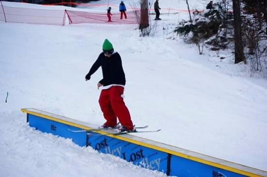 Auburn, ME: Our Terrain Park is the perfect place to try out your moves