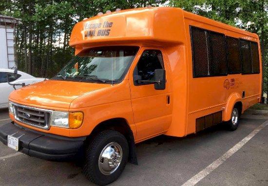 Escape Room Jail Bus