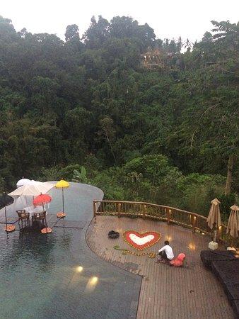 Hanging Gardens of Bali: Délicieux.... À recommander à tous, à faire au moins une fois dans une vie!!
