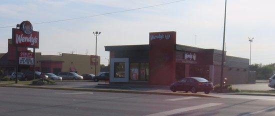 Terre Haute, IN: front of Wendy's
