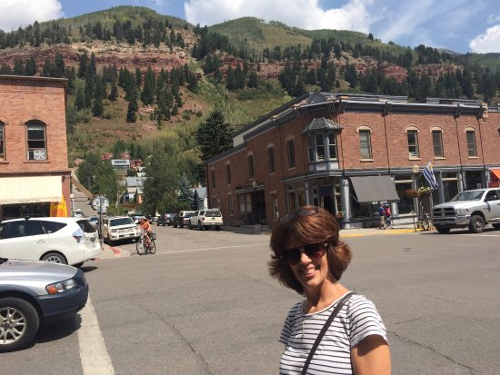 Telluride, CO: Will you just look at that setting!