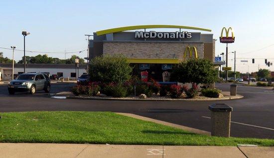 Terre Haute, IN: front of McDonald's