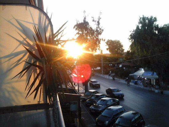 Hotel Miramare: Вечер на балконе Мирамара
