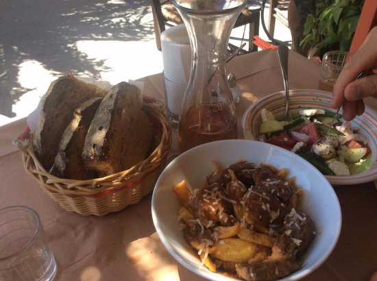 Poseidonia, Greece: local food
