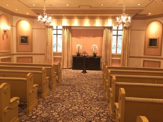 Foto De Bellagio Wedding Chapels Las Vegas Sunset