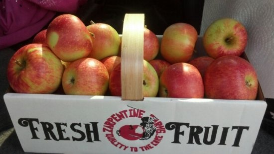Hilton, NY: we sell 17 varieties of apples,baked goods,cider,
