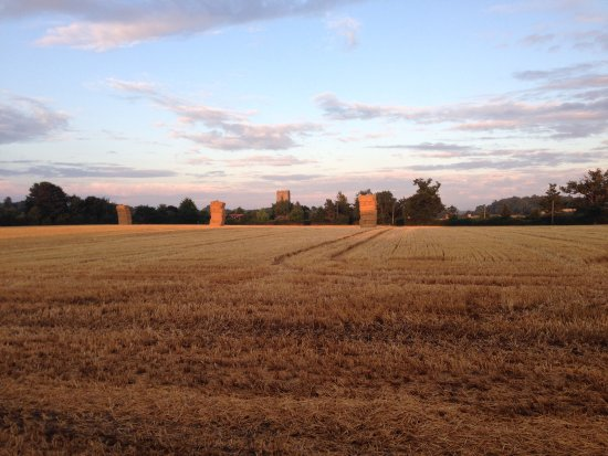 Snape, UK: neighbouring field