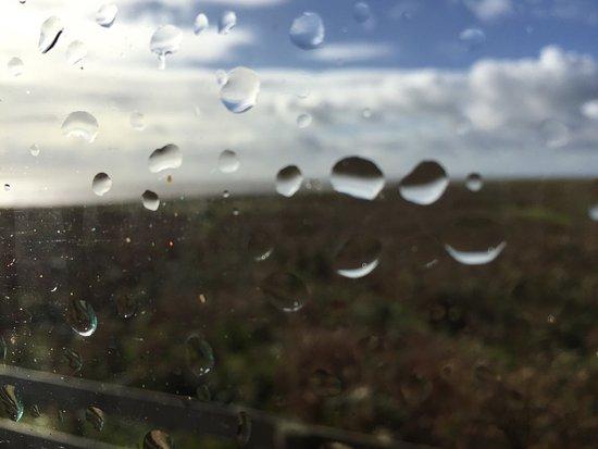 Barrow-in-Furness, UK: Wet n windy ...