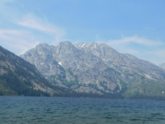 Jenny Lake and Grand Tetons