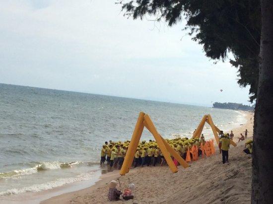 Sunny Beach Resort: Один из тимбилдингов