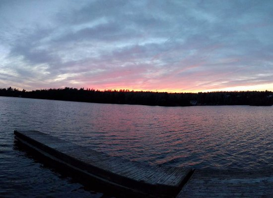 Temagami, Kanada: Sunset Lakeside