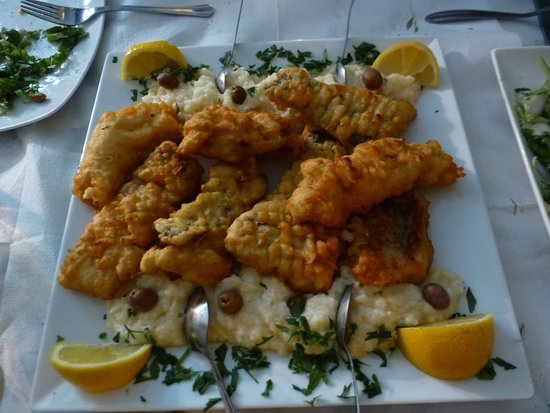 Coco Cafe Restaurant: Bakaliaros skordalia. An old favourite of mine and the best I've ever had anywhere in Greece