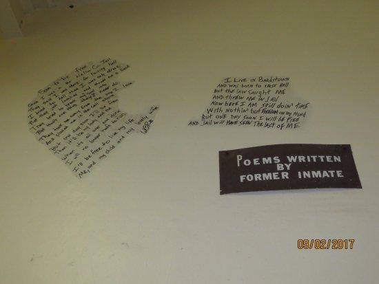 Jailer's Inn Bed and Breakfast : Jail in back of the Jailers Inn