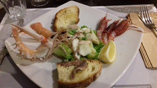 Bresso, Itália: L'unico piatto che si è salvato