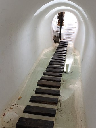 Lagomar Museum : The water steps