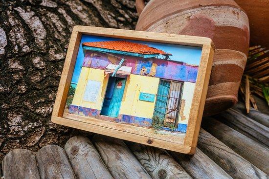 """Purely Aruban Artwork: """"Open doors"""" - Carmen Mesa"""