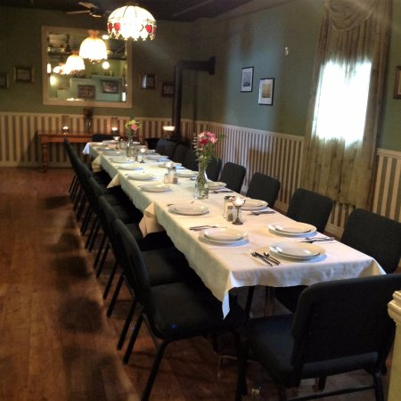 Dunnville, Canadá: Another photo of our private dining room
