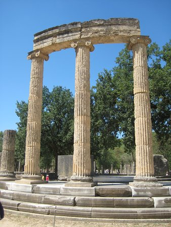 Three Columns  >> Three Columns Picture Of Ancient Olympia Olympia Tripadvisor