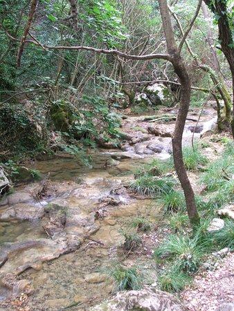Messenia Region, Yunani: ποτάμι