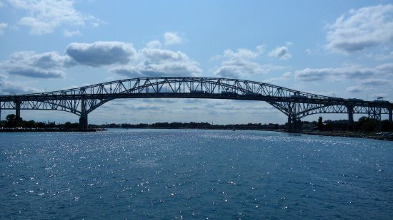 Port Huron, MI: The Blue Water Bridges