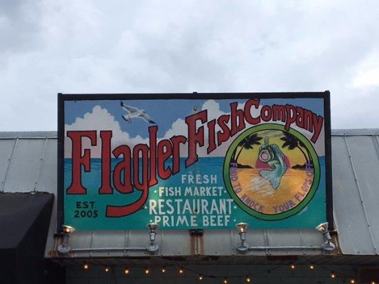 Flagler Fish Company : Sign