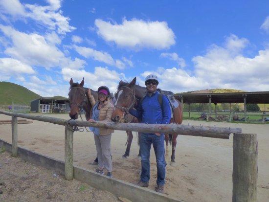 Hanmer Springs, Nova Zelândia: Having fun