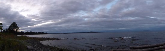 Courtenay, Canadá: Pano from outside our room