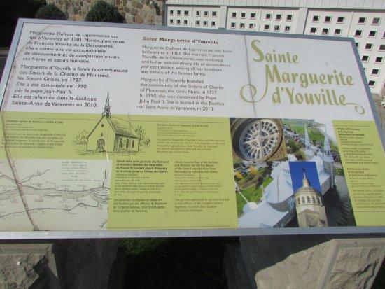 Varennes, Καναδάς: historique