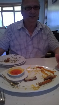 Sittingbourne, UK: All plates empty, fantastic food.