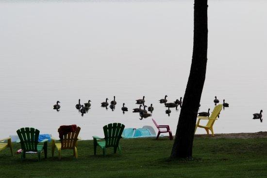 Morning views at Calabogie Lake, Ontario