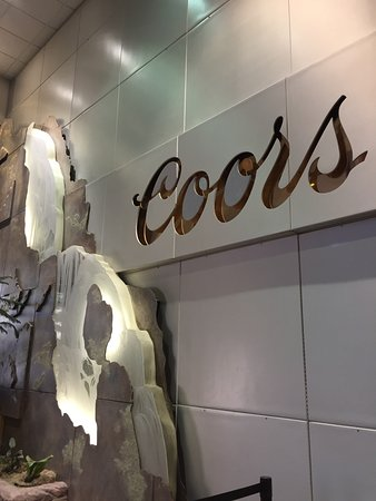 Coors Brewery: Entry