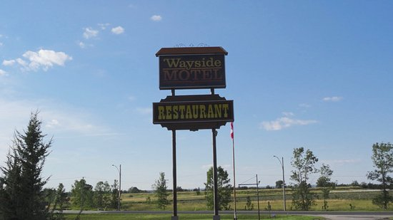 Manitowaning, Canada: Front sign