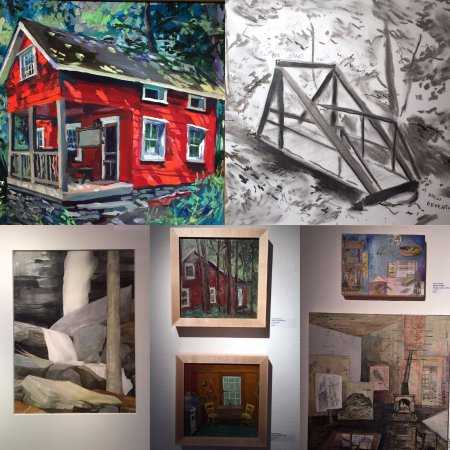 Arkville, NY: The Erpf Gallery features 6 to 8 shows a year showcasing Catskill artists