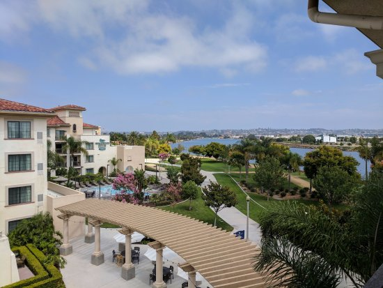 Homewood Suites by Hilton San Diego Airport - Liberty Station: View from Room 472. Just beautiful!