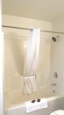 Siegel Select - Las Vegas Boulevard: Rainfall showerheads in every room.