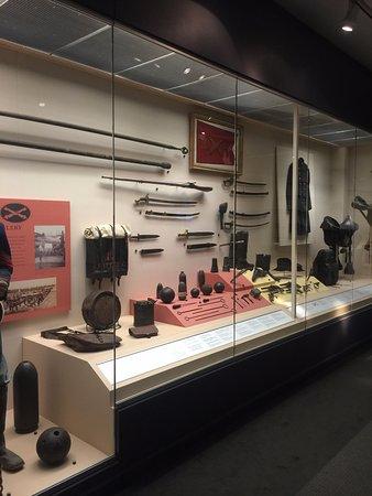 National Civil War Museum: artifact display