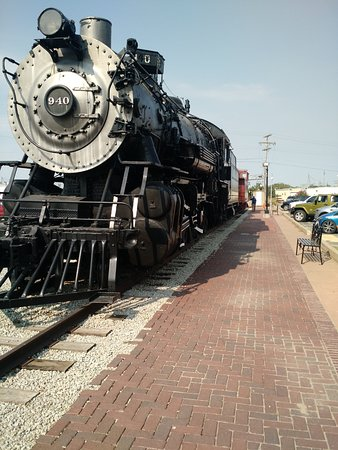 Bartlesville, OK: AT & SF Steam Locomotive No. 940