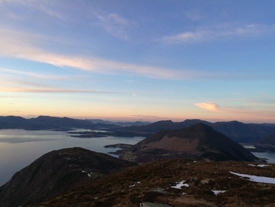 Volda, Norway: Helgehornet Mountain