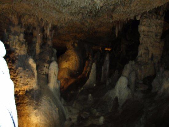 Fantastic Caverns: Cavern view