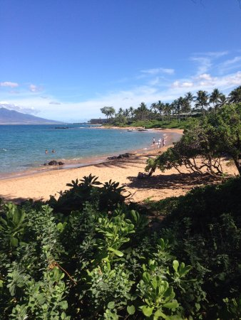 Ulua Beach: Looking North