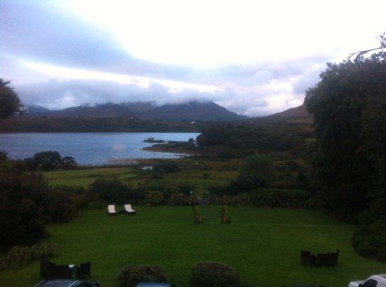 Леттерфрак, Ирландия: view from window